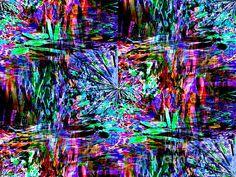 Abstract Illusion Digital Art  - Abstract Illusion Fine Art Print