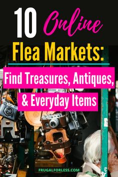 There is something fun about browsing through used goods. Not only are you guaranteed to find something cool, you won't need to spend a lot of money to do it.  Online flea markets are a great source to find what you may (or may not even know) you have been looking for. Flea Markets, Everyday Items, Ways To Save Money, Frugal Living, Fleas, Marketing, Fun, Hilarious