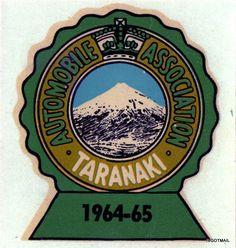1964-1965 AUTOMOBILE ASSOCIATION. NEW ZEALAND. TARANAKI.