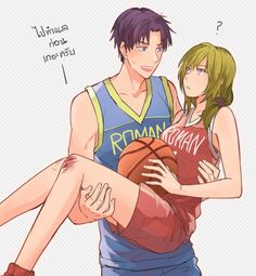ball basketball basketball uniform blonde hair bruise carrying eye contact gekkan shoujo nozaki-kun hetero injury leg grab looking at another princess carry purple hair red eyes seo yuzuki short hair side ponytail sportswear striped stripe Romance Anime List, Manga Anime, Anime Art, Monthly Girls' Nozaki Kun, Gekkan Shoujo Nozaki Kun, Cute Anime Character, Manga Artist, Cute Anime Couples, Manga Comics
