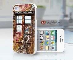Doctor Who Tardis iphone case iphone 4s case iphone by Atwoodting