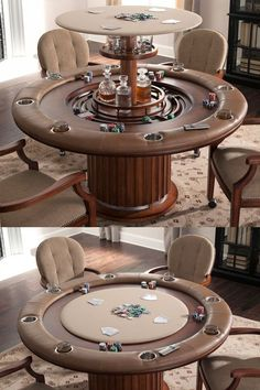 Man Cave Ideas. Ultimate Poker Table