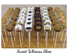 Where the wild things are awesome cake pops