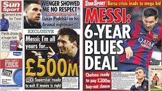 ¿Quién da más? Chelsea y el City preparan €640 millones por Messi