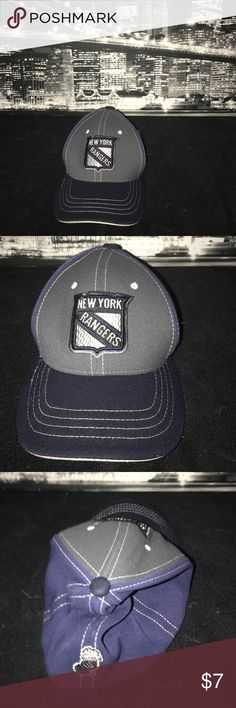 New York Rangers Hat Rock your Rangers!! You can wear this amazing hat anywhere. Take over the eastern conference and hopefully the Stanley cup with this awesome hat. Make wearing this hat a new hockey tradition. New York Rangers Other