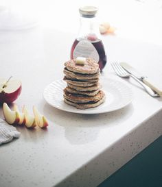 Pancakes for One   Top With Cinnamon
