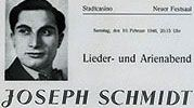 Das Joseph Schmidt-Archiv Joseph Schmidt, Archive