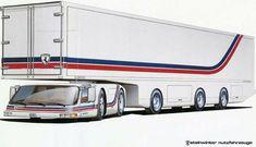 Compact truck design, Manfred Steinwinter.