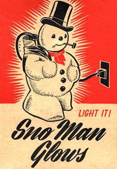 Light up snowman, he flows!