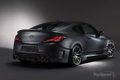 Hyundai Genesis Coupe Legato Concept by ARK Performance