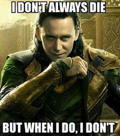 While there have been plenty of unforgettable sibling relationships in movies and television, few have been as compelling and fun as Thor and Loki in the string of Thor and Avengers movies over the last seven years.Read This Top 22 Loki Memes Marvel Avengers Humor, Marvel Jokes, Films Marvel, Avengers Quotes, Avengers Imagines, Funny Marvel Memes, Loki Quotes, Loki Meme, Loki Funny