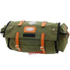 Carradice Carradice Lowsaddle Longflap Saddlebag - Green with Honey straps - 15Ltr