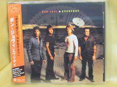 CD/Japan- BON JOVI Everyday 4trx EP w/OBI RARE incl.3 demo 2002 UICL-5008 #HardRock