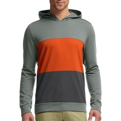 Icebreaker Escape Hooded Sweater ($117) ❤ liked on Polyvore featuring men's fashion, men's clothing, mens clothing and mens apparel