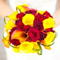 A red and yellow military wedding---!!!!! FINALLY FOUND A UNIQUE PRETTY SET OF YELLOW AND RED