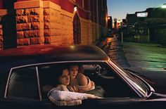 [jack white & karen elson. vogue].  The Ryman and it's famous back alley.  One of my all-time favorite pictures of Nashville.
