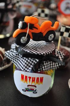 Motorcycle party favors #motorcycle #partyfavors
