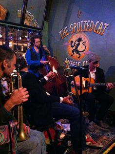 The Spotted Cat Music Club in New Orleans, LA