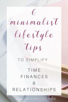 On this episode of The Sustainable Minimalists Podcast: 6 minimalist lifestyle tips to apply a Less is More approach to time, finances and relationships. Making Money On Youtube, Financial Stress, Interpersonal Relationship, Making Life Easier, Mind Tricks, Minimalist Lifestyle, Declutter, Organize, Life Inspiration