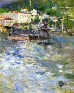 Le Port de Nice - Berthe Morisot  1892