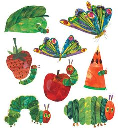 Eric Carle Temporary Tattoo set from Tattly