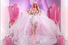 """nicki Minaj is both thrilled and proud that toy giant Mattel has crafted a Barbie Doll in her likeness for charity, telling Billboard that it's a """"major moment"""" in her career and a special one for her fans, a dedicated bunch she refers to as Barbies or Barbz."""
