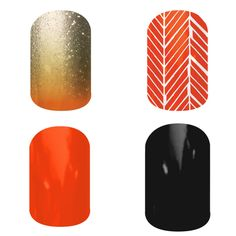 Go Giants! Baseball team inspired nail wraps. order yours at www.melisimpson.jamberrynails.net