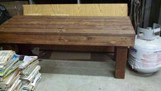 Pallet bench Sold Pallet Furniture For Sale, Pallet Bench, Table, Home Decor, Decoration Home, Room Decor, Pallet Benches, Tables, Home Interior Design