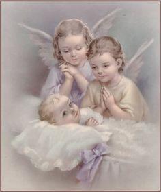 Imagen angelito para bautizo - Imagui