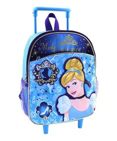 Look what I found on #zulily! Cinderella Rolling Backpack #zulilyfinds