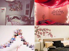 Dicas pra decorar a parede do seu quarto