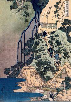 Woodblock print by KATSUSHIKA Hokusai (1760-1849)