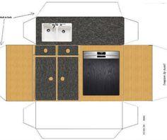 Pia armario fogão