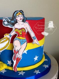 Wonder Woman - Cake by Sweet Traditions