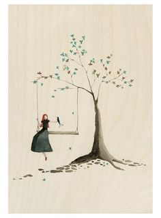 beautiful illustration by lily moon etsy