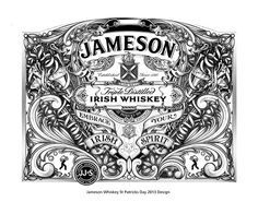 Made for Jameson Whiskey to celebrate St Patrick's day on Behance
