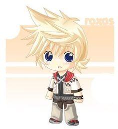 Kingdom Hearts, chibi Roxas