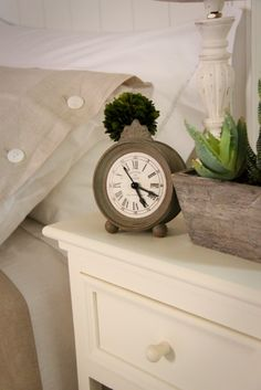 Maybe a clock like this to go on the mantle?