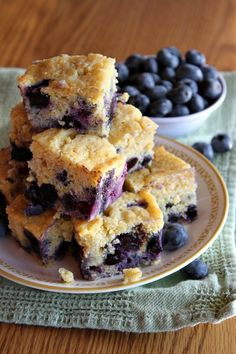 Blueberry Cornbread @RecipeGirl {recipegirl.com} {recipegirl.com} {recipegirl.com}