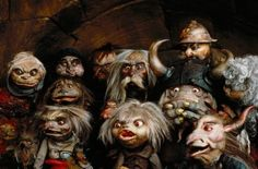 The Goblins are the most prominent race to inhabit the Labyrinth, and are ruled over by Jareth, the Goblin King. They feature in both the Jim Henson film Labyrinth and its manga sequel, Return to Labyrinth. Labyrinth Tattoo, Labyrinth Film, Labyrinth Goblins, Jim Henson Labyrinth, David Bowie, Labrynth, Fraggle Rock, Goblin King, Poster Art