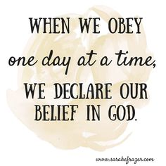 """Chambers also wrote:""""If I do my duty, not for duty's sake, but because I believe God is entering my circumstances, then at the very point of my obedience the whole superb grace of God is mine through Atonement."""""""