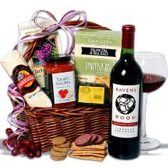 Ravenswood Red Wine Gift Basket  $69.99