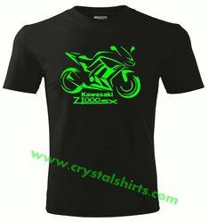 Kawasaki Z1000 77 inspired vintage motorcycle classic bike shirt tshirt