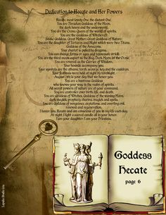Goddess Hecate page 6