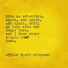 Typewriter Series #1962 by Tyler Knott Gregson