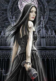 Gothic Art...By Artist Anne Stokes...