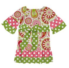 Check out this cute dress Gina just created on Designed By Me by Lolly Wolly Doodle!