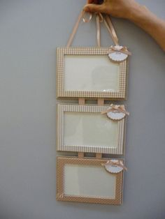 Photo Frame - Great Article With Plenty Insights About Photography Diy Photo Frame Cardboard, Cardboard Frames, Picture Frame Crafts, Hanging Picture Frames, Diy Cardboard, Pearl Crafts, Glue Gun Crafts, Handmade Frames, Seashell Crafts