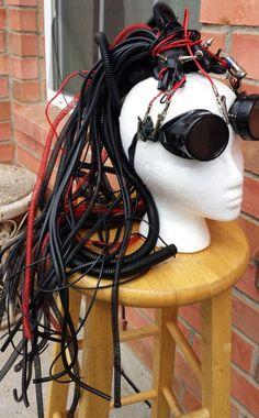 Cyberpunk Rivethead Dread Falls Cosplay Cyber Goth Wfd | CyberFreak | I Am Attitude