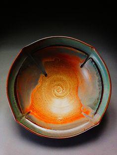 moss glaze by David Voll Pottery Pottery Plates, Pottery Mugs, Ceramic Pottery, Pottery Art, Slab Pottery, Pottery Workshop, Pottery Studio, Ceramic Clay, Ceramic Plates